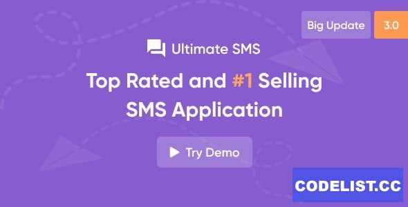 Ultimate SMS v3.0 - Bulk SMS Application For Marketing - nulled