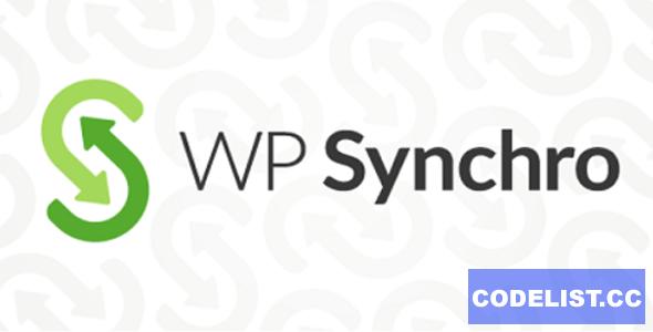 WP Synchro Pro v1.6.2 - WordPress Migration Plugin
