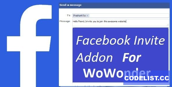 Facebook Invite Addon For WoWonder - 22 March 2021