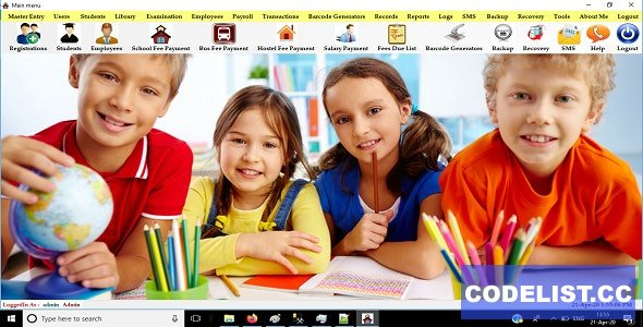 SchoolMate v1.0 - Complete School and College ERP solution