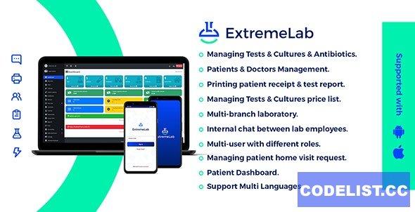Extreme Laboratory Management System v2.1