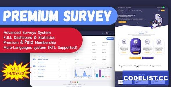 Puerto Premium Survey Builder SAAS v1.2.1