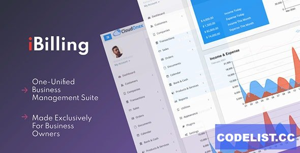 iBilling v4.9.0 - CRM, Accounting and Billing Software