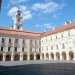 Vilnius University and Daukanto Square