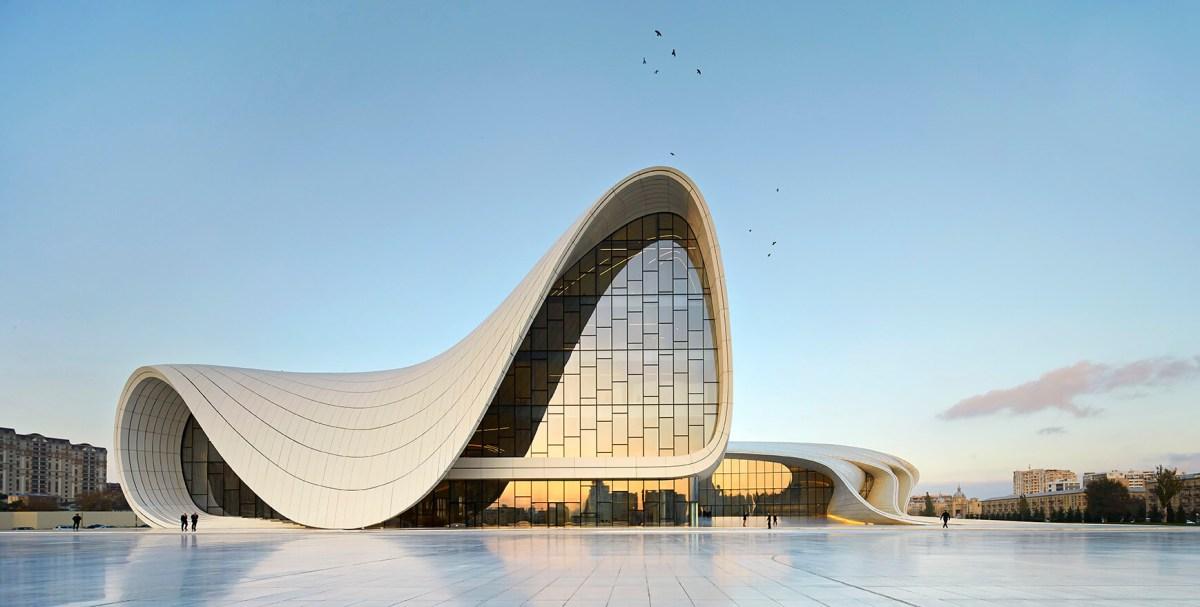 Heydar Aliyev Center Baku Art