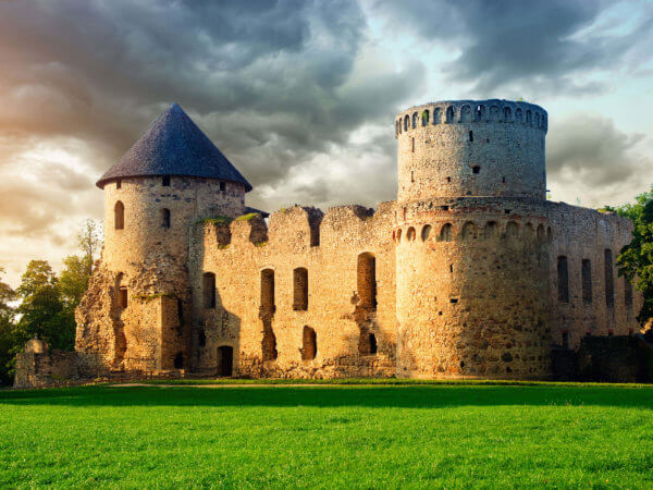 Cesis Latvia The Castle Town