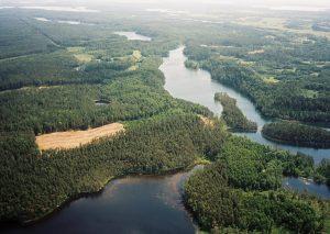 Sartai regional park Lithuania
