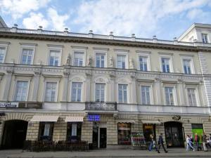 Kossakowski Palace Royal Route Warsaw
