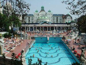 Tur til Budapest 22 - 26. aug. 02. .Gellert Hotel