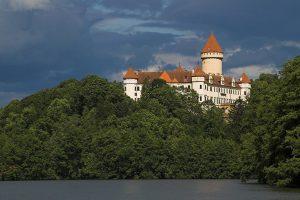 Konopiště Castle Czech Republic daytrp ouside prague