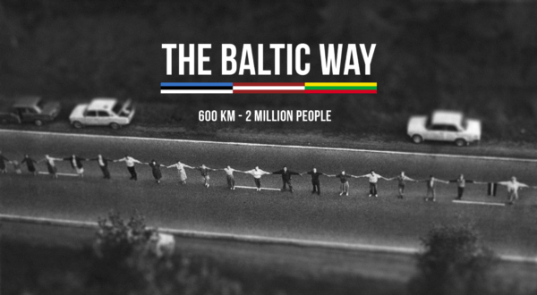 The Baltic Way Memorial Vilnius
