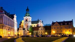 Poznan Night View