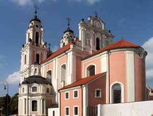 St. Catherines Church Vilniaus Street