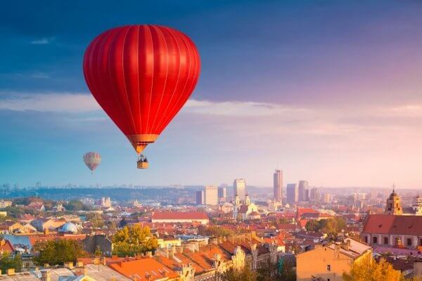 Vilnius Balloon Ride