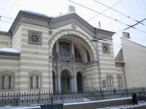 Choral Synagogue Vilnius Pylimo Street