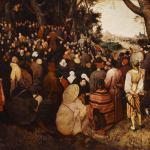 St John the Baptist Sermon Pieter Bruegel