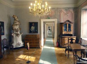 Nagytetenyi Palace Museum Interior