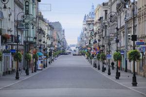 Piotrkowska Street Lodz