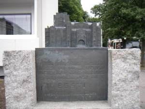 Endla Society Building Monument Parnu