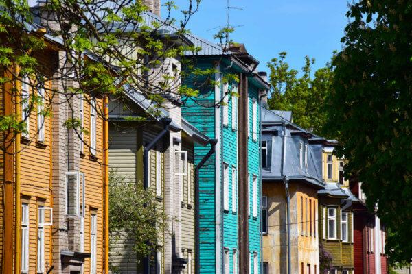 Kalamaja district Tallinn