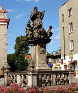 St. John Nepomucen Statue Rybnik