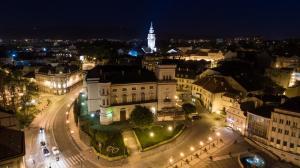 Bielsko-Biala Poland Nightview