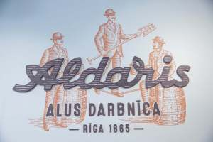 Aldaris Beer Logo