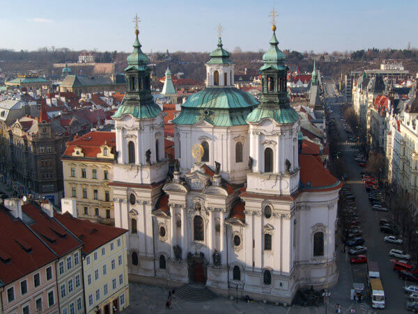 Church of St Nicholas Prague Old Town
