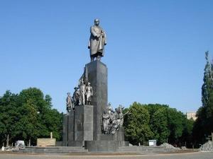 Taras Shevchenko Monument Kharkiv