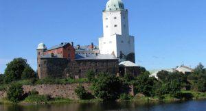 Vyborg Castle Russia