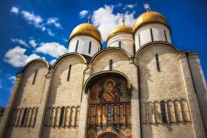 Dormition Cathedral Moscow Kremlin