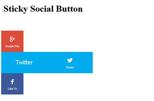 Learn How To Create a Sticky Social Media Bar