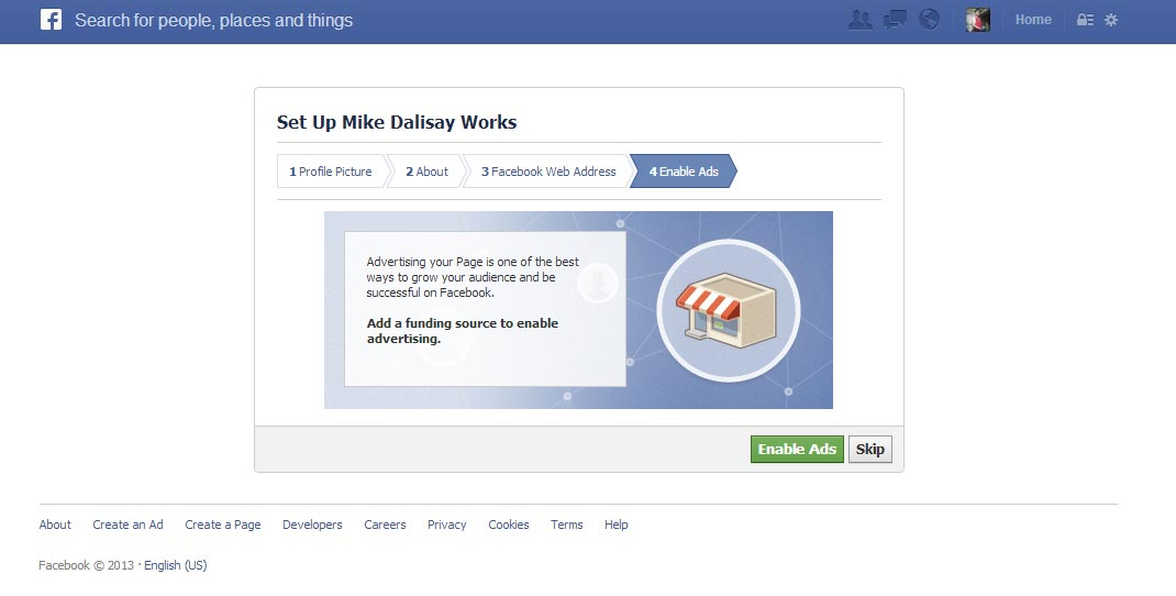 how to get the html code of facebook page