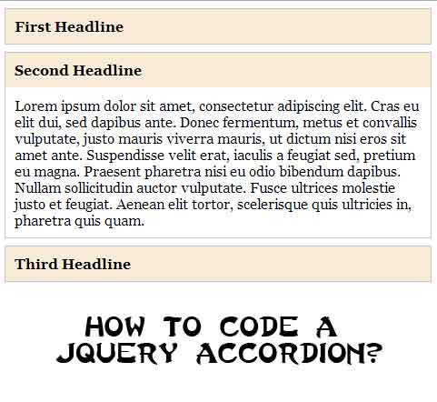 A Quick Way To Create A Vertical Accordion With jQuery
