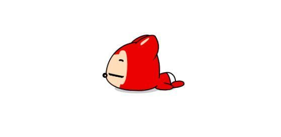 8-lazy-cute-red-pet-animated-css-html-logo-1