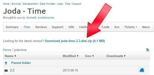 How to Use Joda Time in Eclipse? - Android Code Ninja
