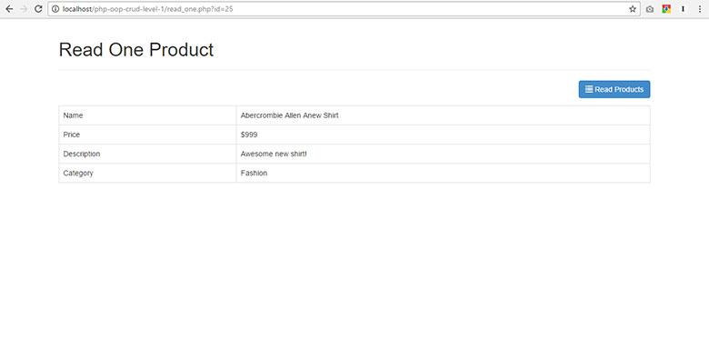 PHP OOP CRUD Tutorial - PHP Object Oriented Programming