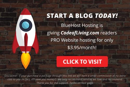 Start A Blog Offer