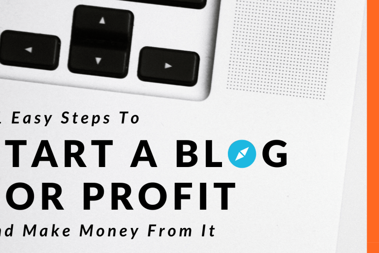 Learn How To Start A Blog -- Post Featured Image