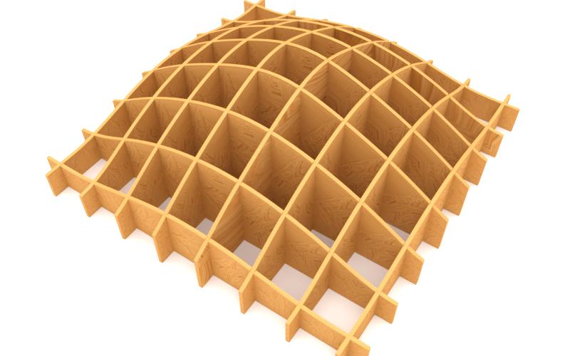 waffle structure blender sverchok