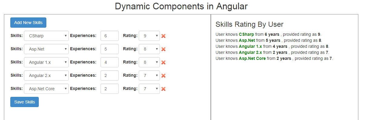Dynamic Components In Angular With Typescript Codeproject