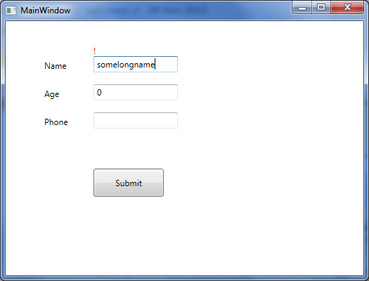 Wpf Textbox Template  diagram of visual tree hierarchy  us