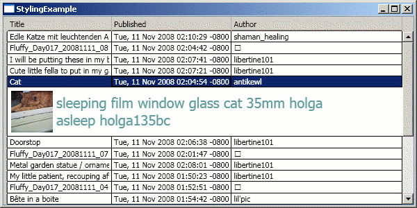 Wpf Datagrid Row Template  wpf datagrid template of xceed datagrid