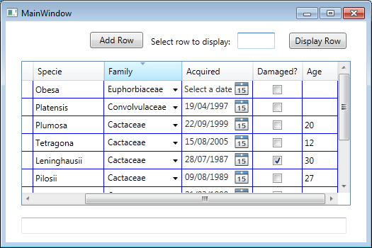 Wpf Datagrid Template Column  wpf datagrid control devexpress  wpf
