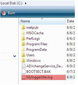 Log4Net with ASP.NET 3.5  (3/6)