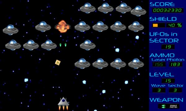 Invasion Gameplay Screen Level 15
