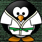 judo-penguin-verde
