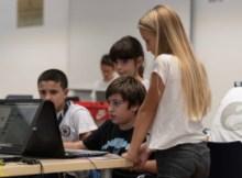 I ragazzi di CoderDojo Brianza durante uno dei nostri appuntamenti