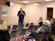 Michele di Paola parla ai genitori di CoderDojo Brianza