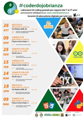 calendario eventi coderdojo brianza 2020